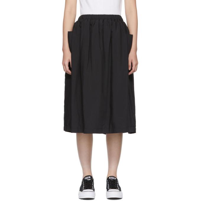 Image of Comme des Garçons Girl Black Padded Skirt