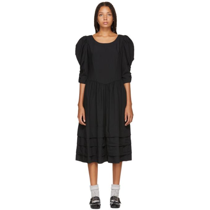 Image of Comme des Garçons Comme des Garçons Black Bouffant Dress