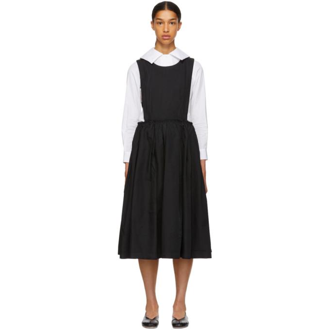 Image of Comme des Garçons Comme des Garçons Black Open Side Dress