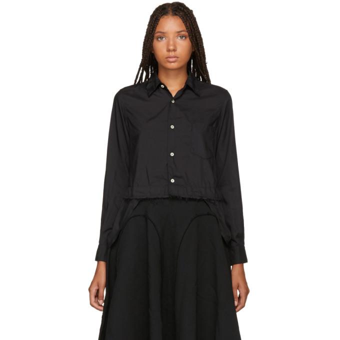 Image of Comme des Garçons Comme des Garçons Black Ruffle Tails Shirt
