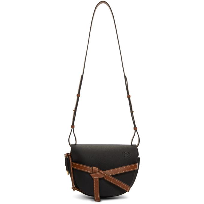 Loewe Black Small Gate Bag