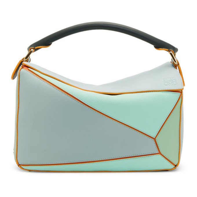 Loewe Blue Paula's Ibiza Edition Puzzle Bag