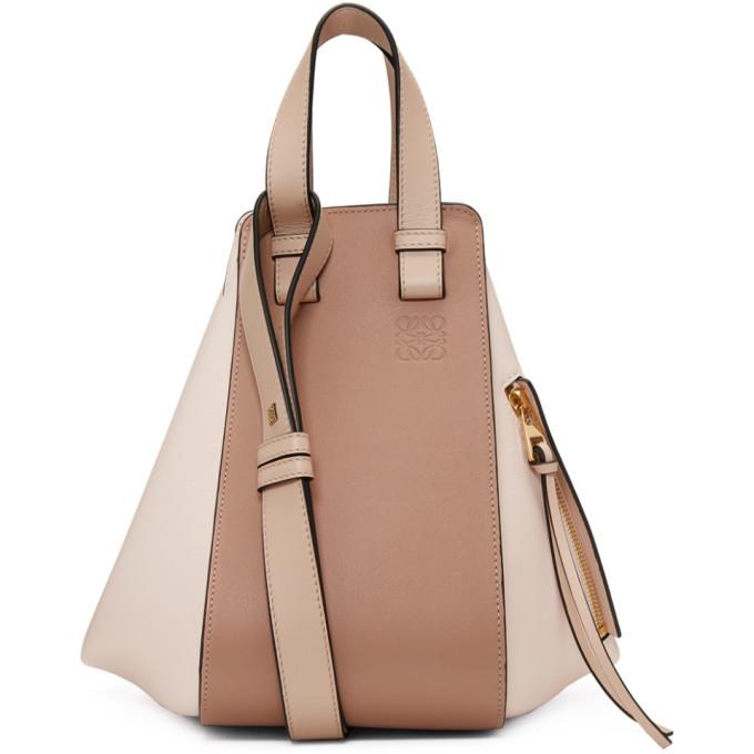 Loewe Pink Small Hammock Bag