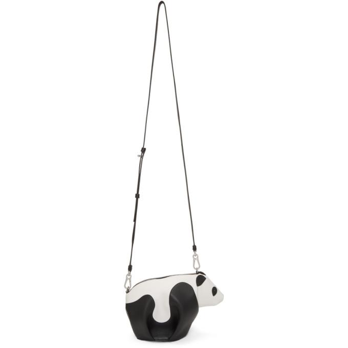 Loewe Black & White Mini Panda Bag