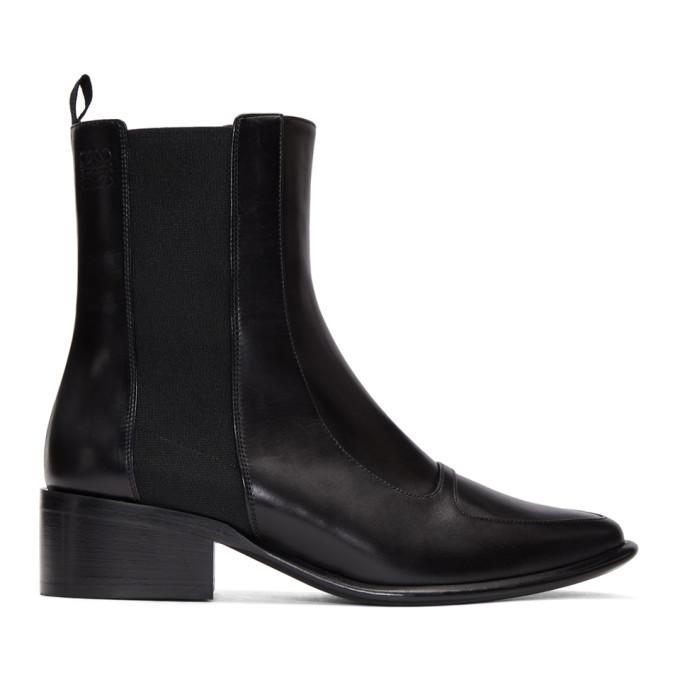 Loewe Black Chelsea 40 Boots