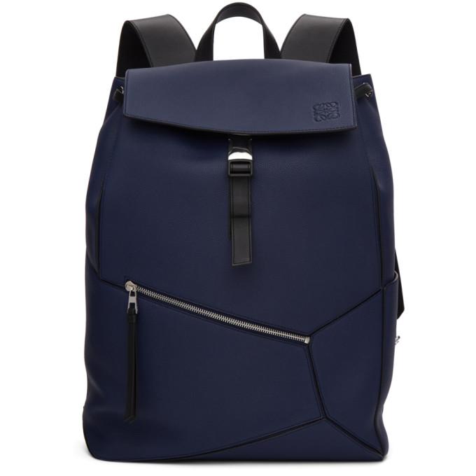 Loewe Blue Puzzle Backpack