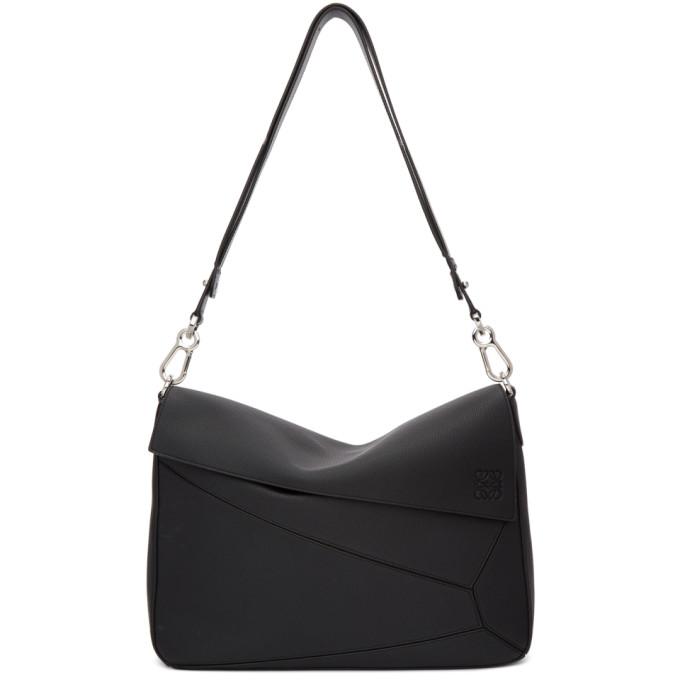 Loewe Black XL Puzzle Messenger Bag