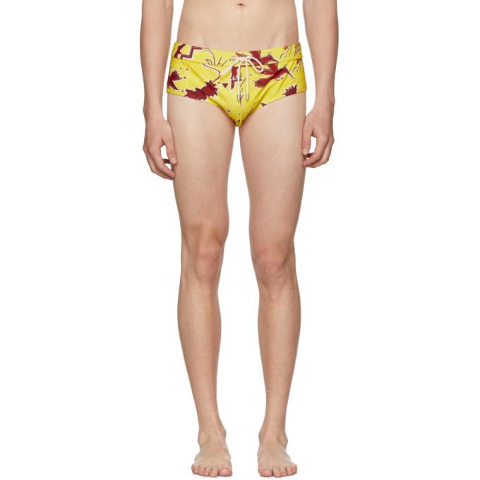 Loewe Yellow Paula's Ibiza Edition Bug Bathing Suit