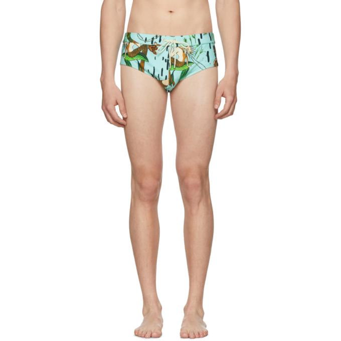 Loewe Blue Paula's Ibiza Edition Mermaid Bathing Suit