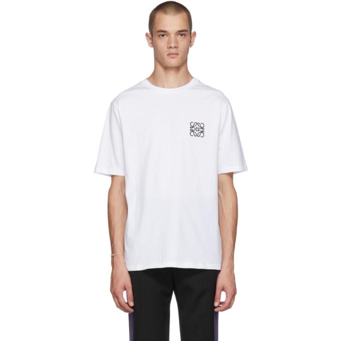 Loewe ホワイト アナグラム T シャツ