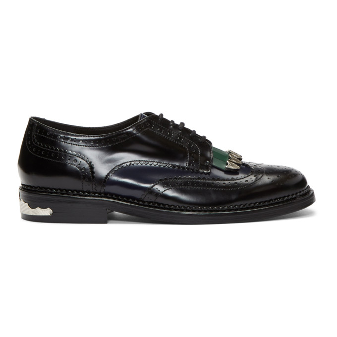 Image of Toga Virilis Black Mix Brogues