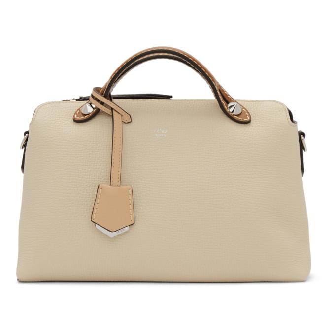 Fendi White Medium By The Way Bag
