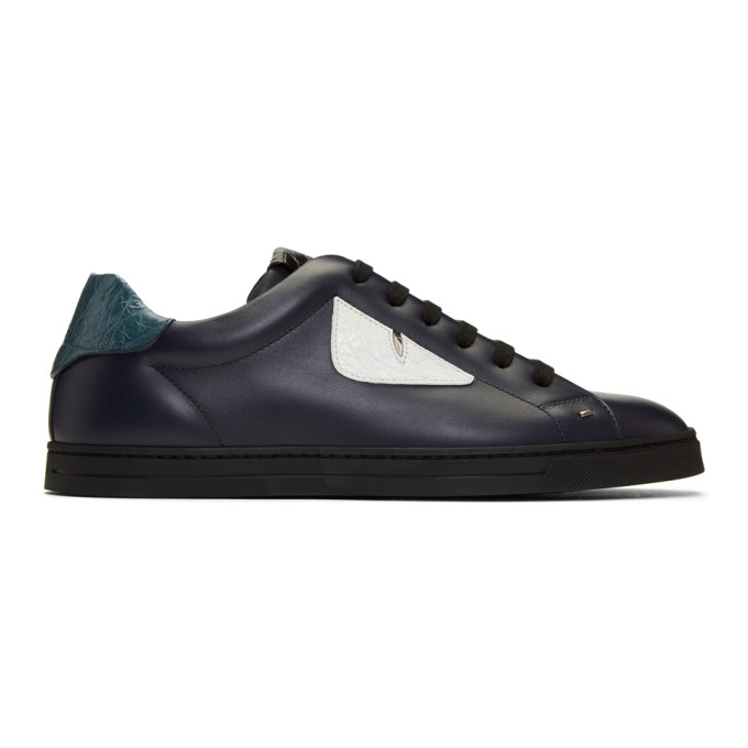 Fendi Indigo 'Bag Bugs' Sneakers
