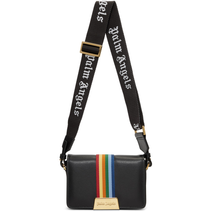 Palm Angels Black Iconic 'High As Your Expectations' Plain Bag