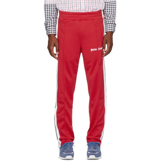 Palm Angels Pantalon de survêtement rouge Classic