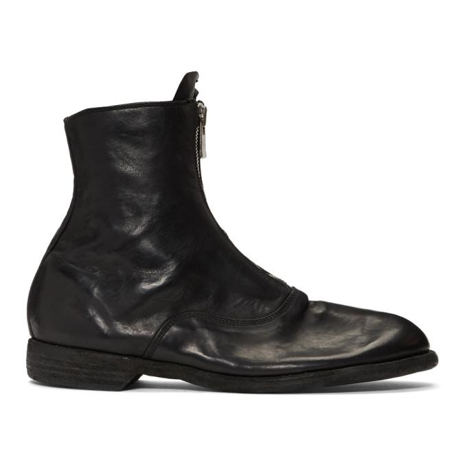 Guidi Black Horse Soldato Boots