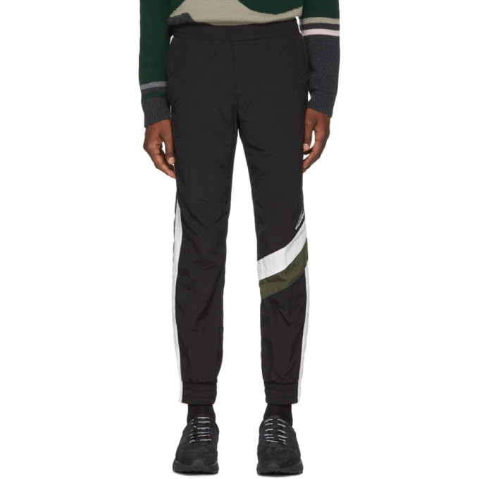 Image of Wooyoungmi Black & Khaki Track Pants