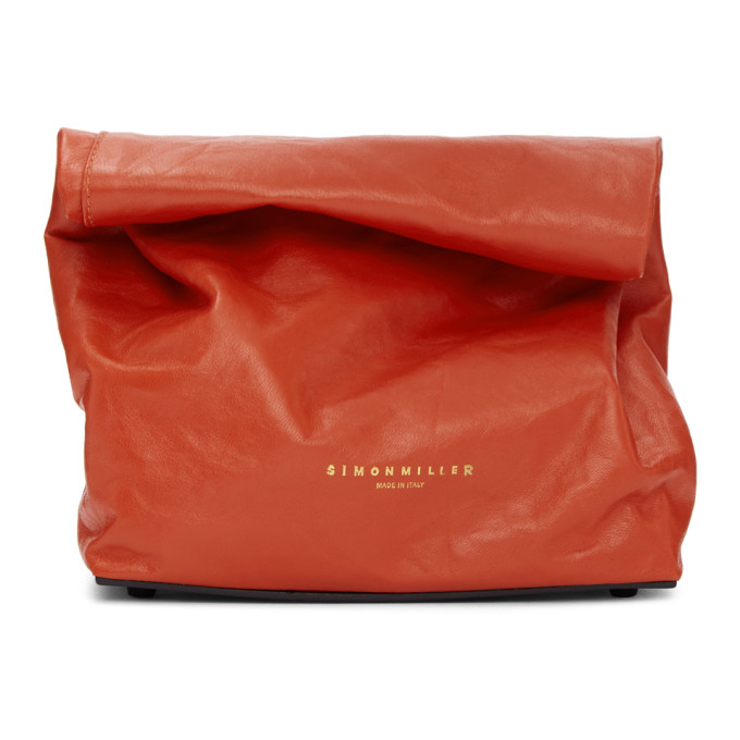 Simon Miller Red Lunch Bag 20 Clutch