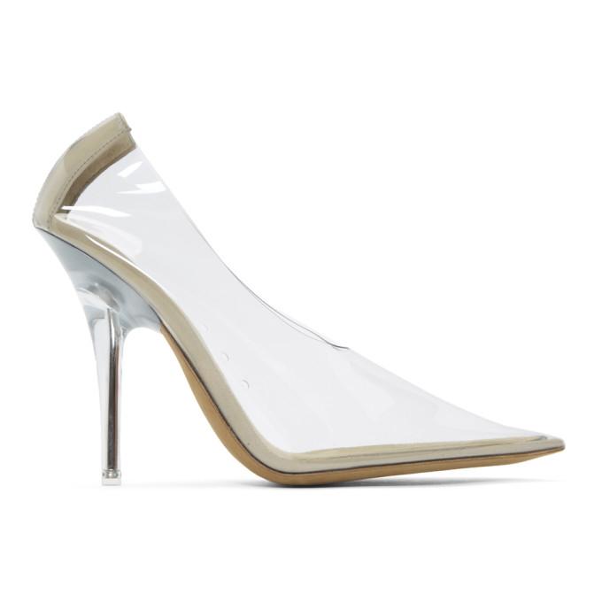 YEEZY Transparent 110mm PVC Heels