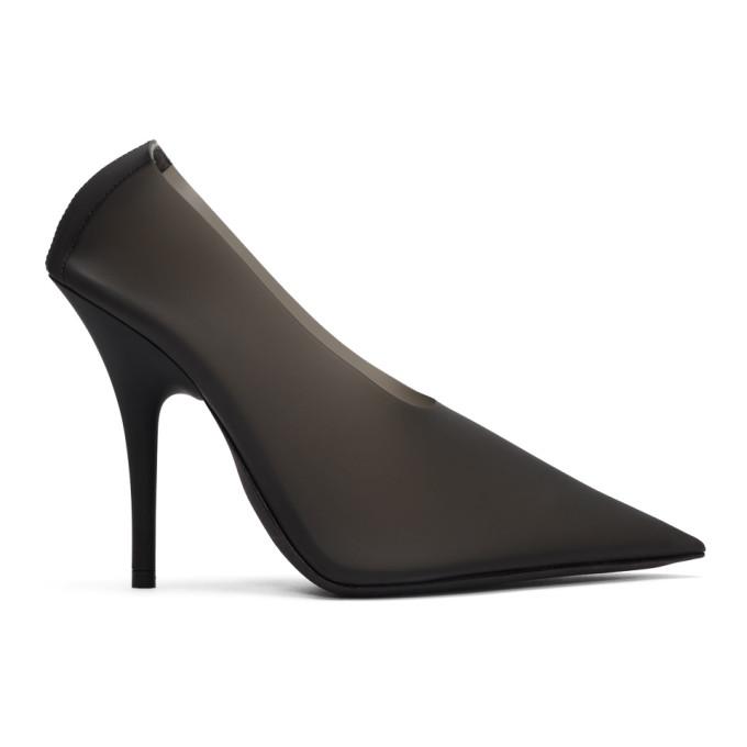 YEEZY Black PVC Heels