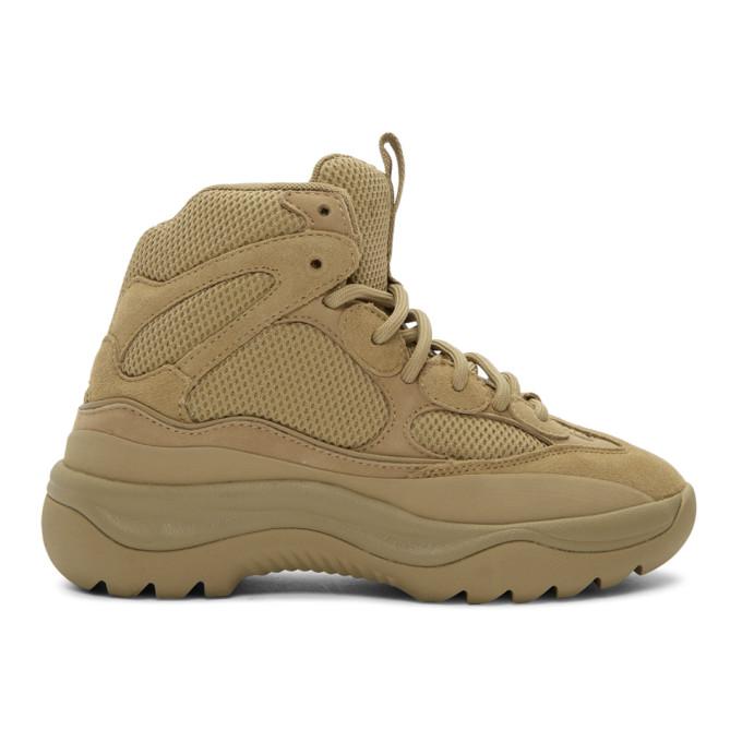 YEEZY Desert Boots (taupe) ssense.com supaflymag.com