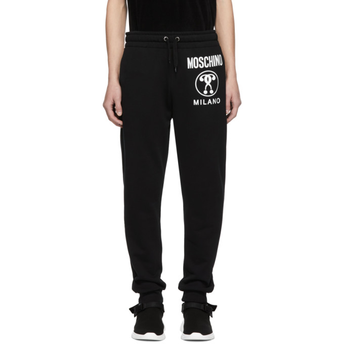 Image of Moschino Black Logo Lounge Pants