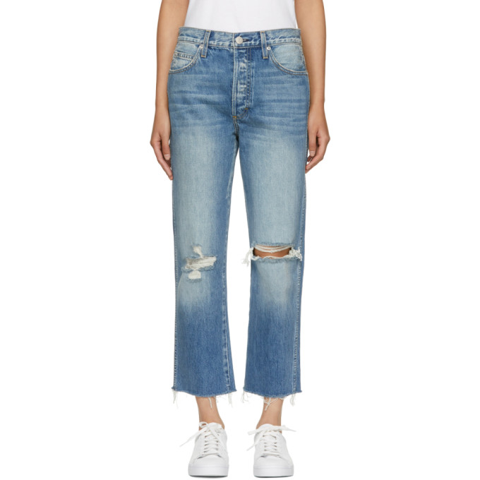 Amo Blue High-Rise Loverboy Jeans