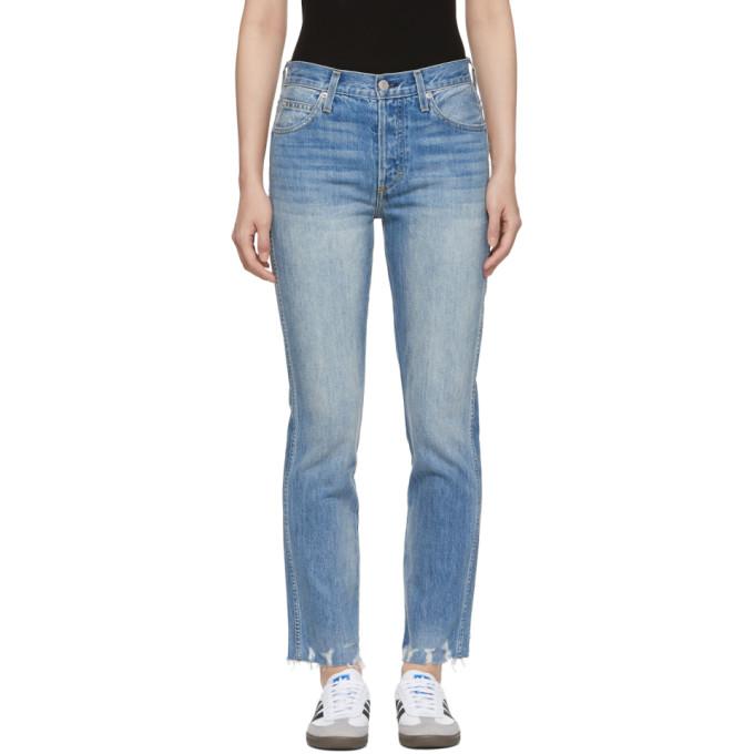Image of Amo Blue Rad Wash Lover Jeans