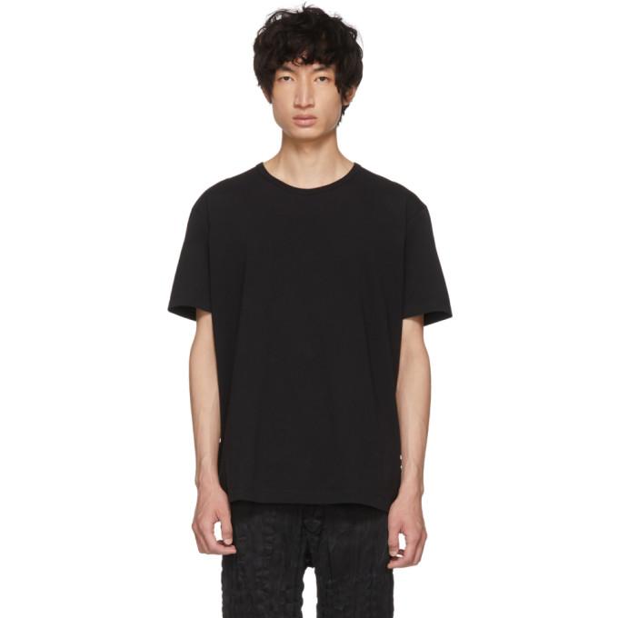 Image of Issey Miyake Men Black Bio T-Shirt