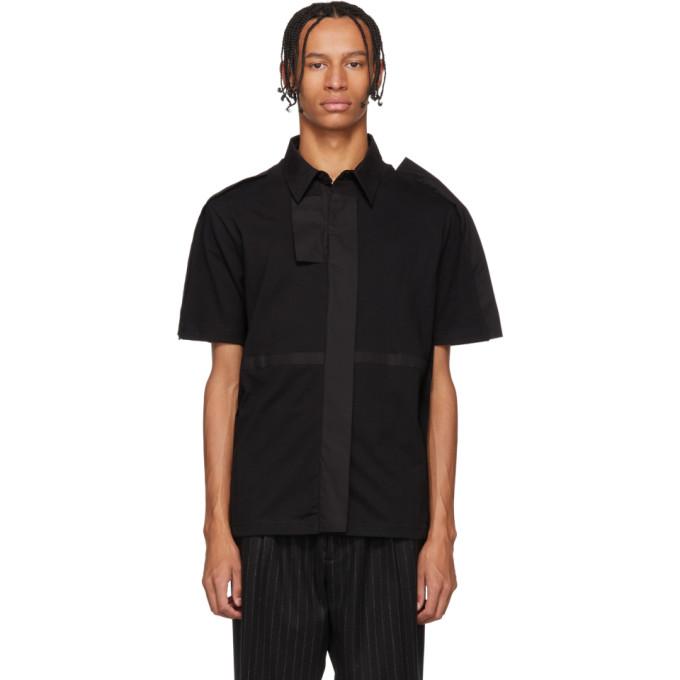 Craig Green T-shirt noir Fin Polo