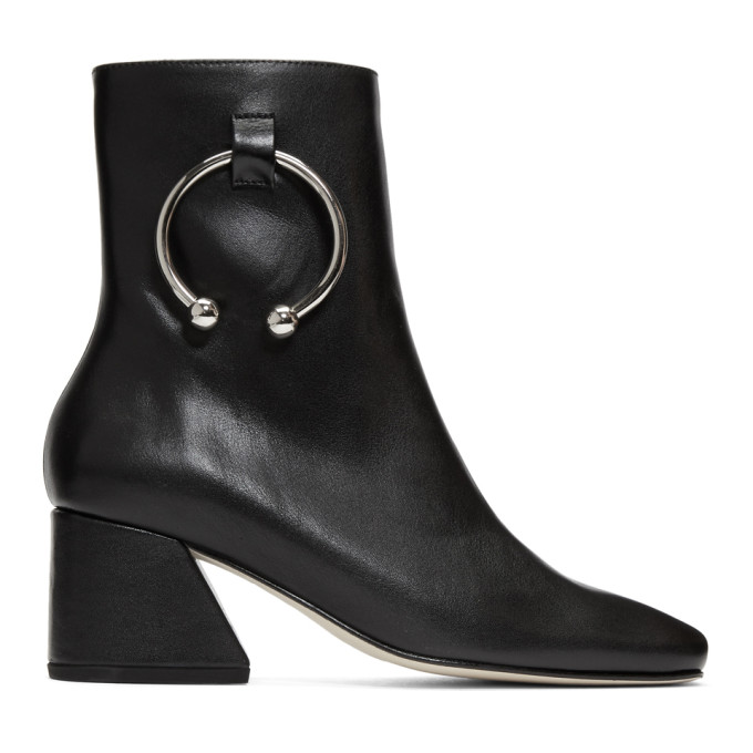 Image of Dorateymur Black Nappa Nizip Boots