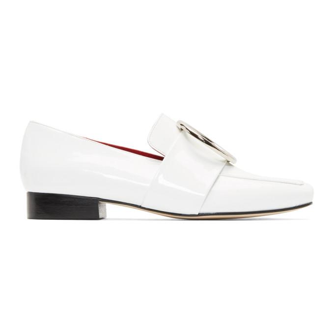 Dorateymur White Patent Harput Loafers