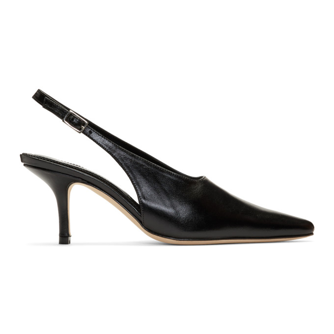 Dorateymur Black Groupie II Heel Mules