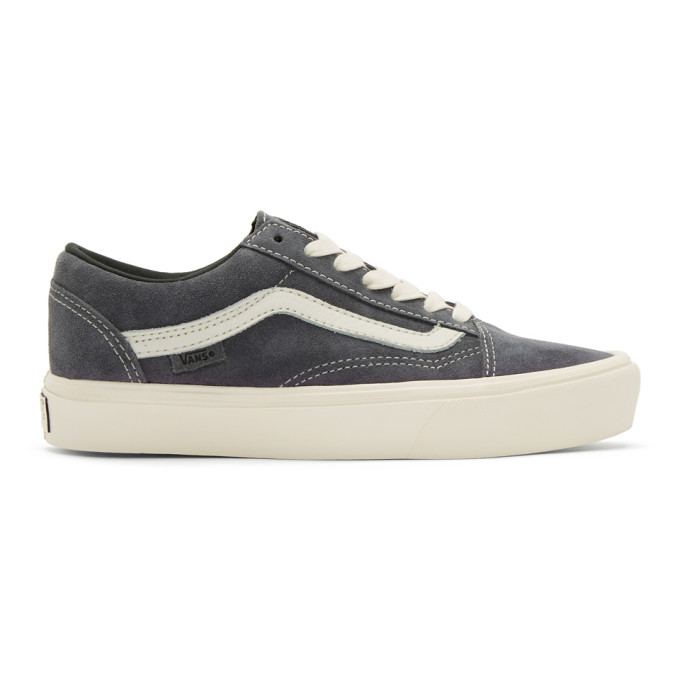 Vans Grey Old Skool Lite LX Sneakers