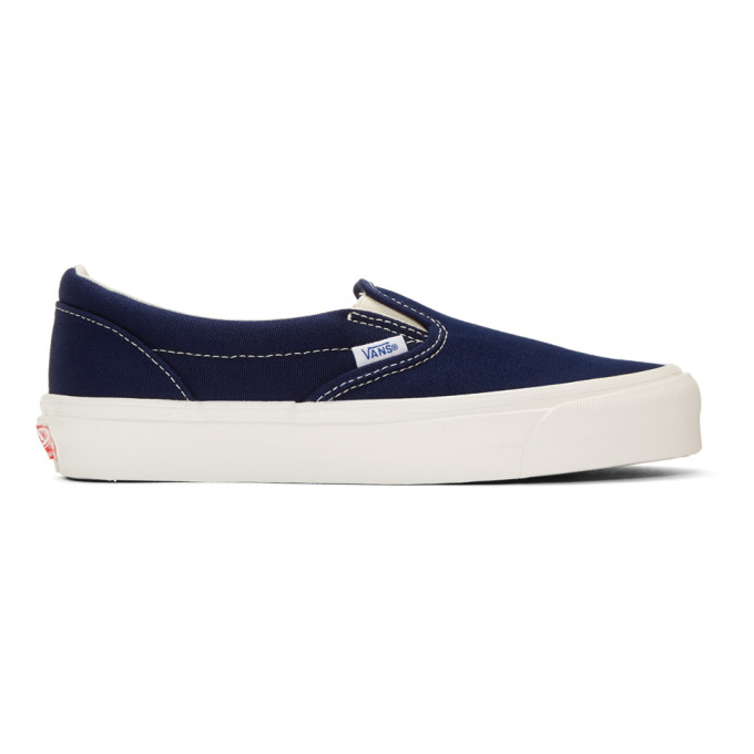 Vans Blue OG Classic Slip-On Sneakers