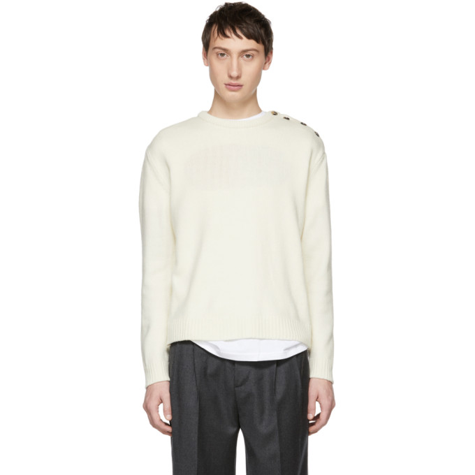 ÉDITIONS M.R Editions M.R Off-White Yann Sweater in Ivory