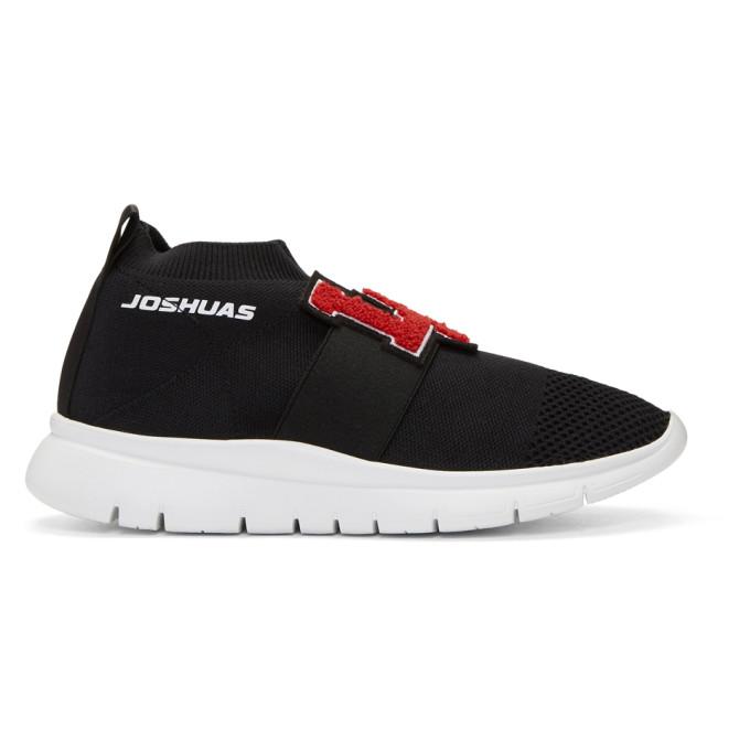 Image of Joshua Sanders Black LA Sock Sneakers