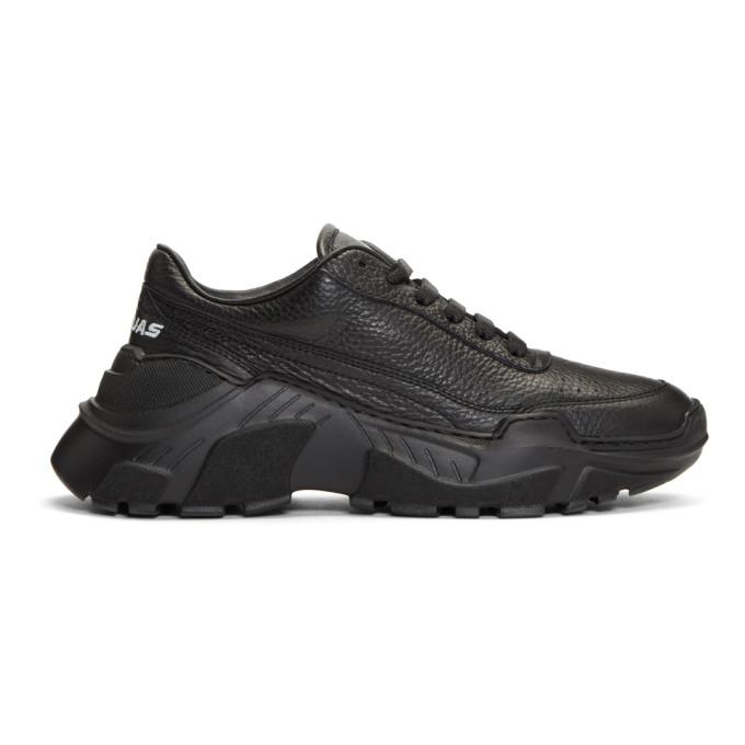 Image of Joshua Sanders Black Chunky Sole Sneakers