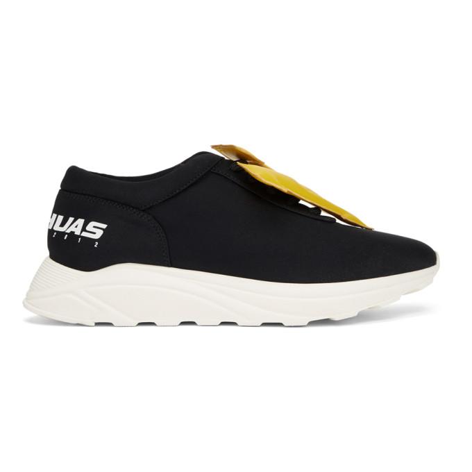Joshua Sanders Black 'NY' Sneakers