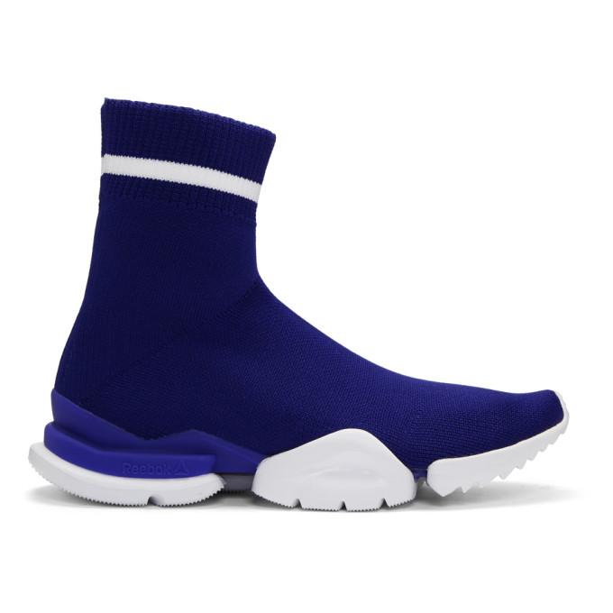 Reebok Classics Blue Sock Run Sneakers