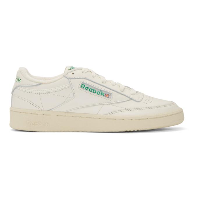 Reebok Classics White Club C 85 Vintage Sneakers