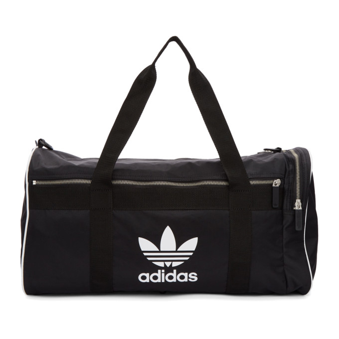 adidas Originals Black Large Adicolor Duffle Bag