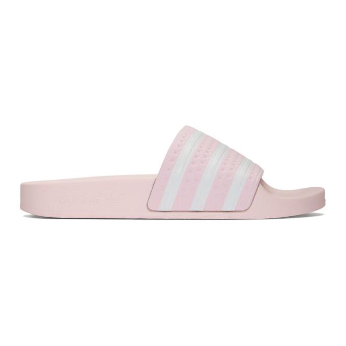 adidas Originals Pink Adilette Slides