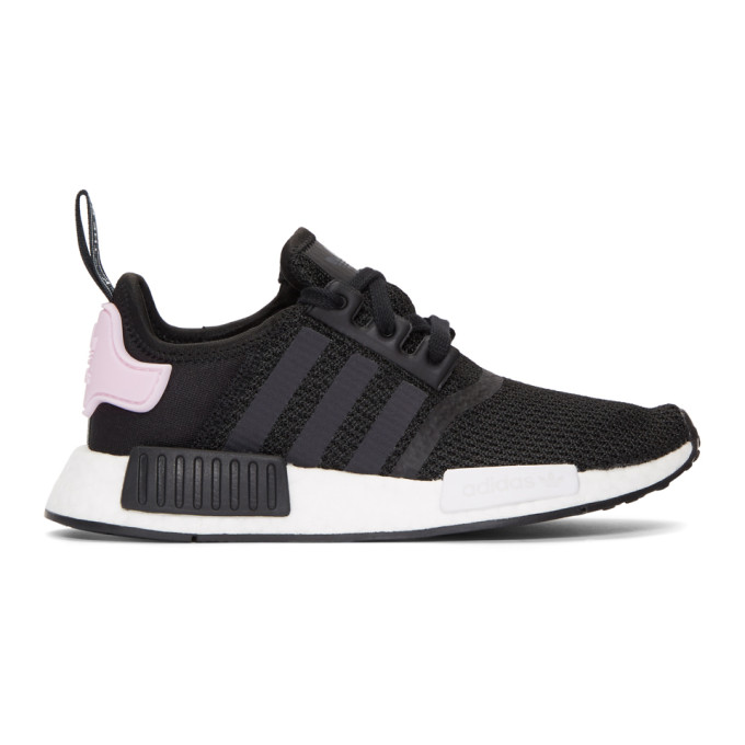 adidas Originals Black & White NMD_R1 W Sneakers