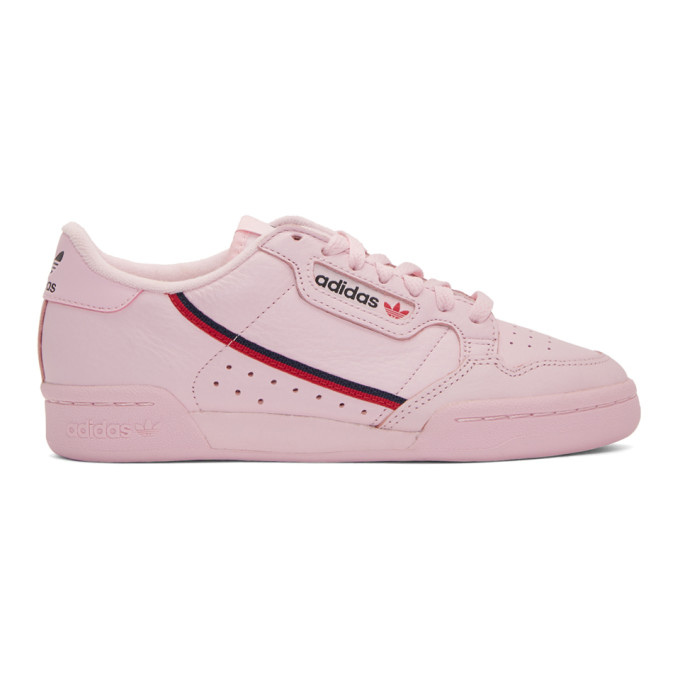 adidas Originals Pink Continental 80 Sneakers