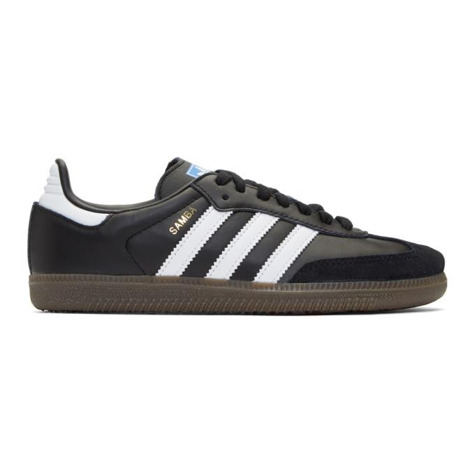 adidas Originals Black Samba OG Sneakers