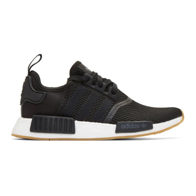 adidas Originals Black NMD_R1 Boost Sneakers