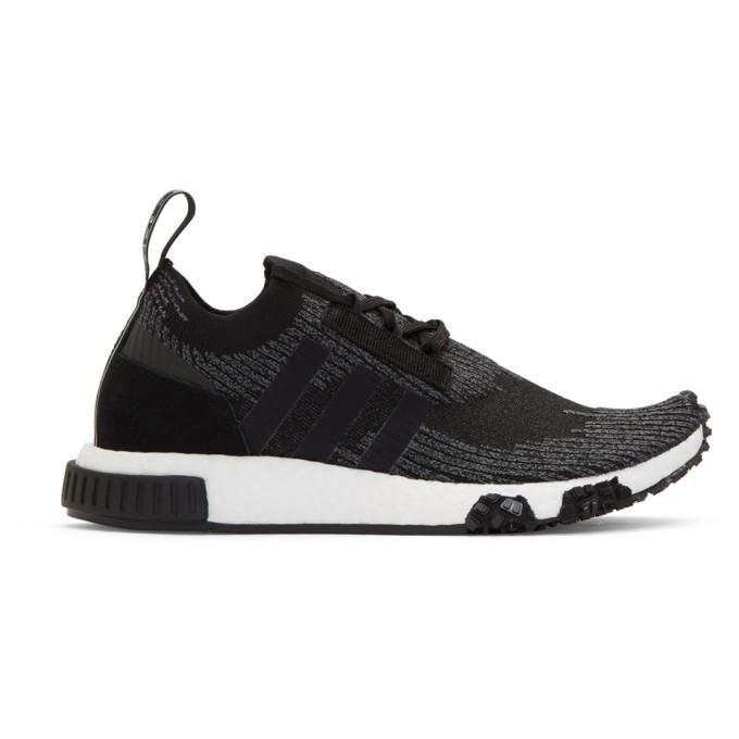 adidas Originals Black & Grey NMD_Racer PK Sneakers