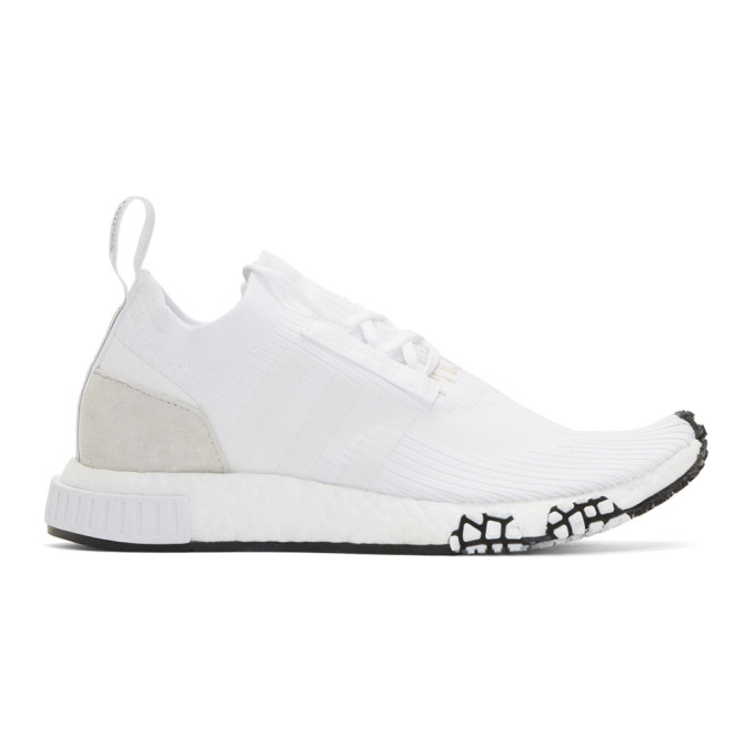 adidas Originals White NMD_Racer PK Sneakers
