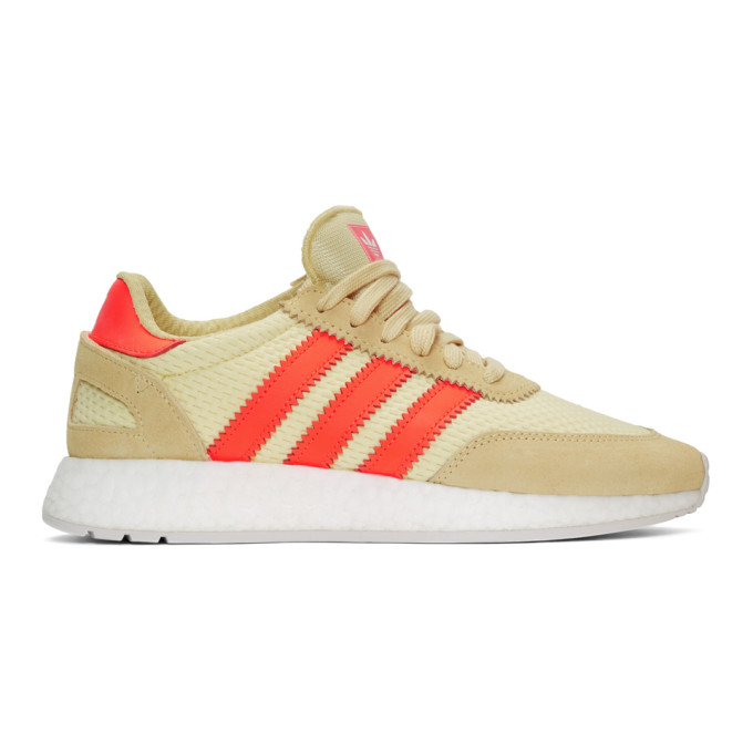 adidas Originals Yellow & Red I-5923 Boost Sneakers